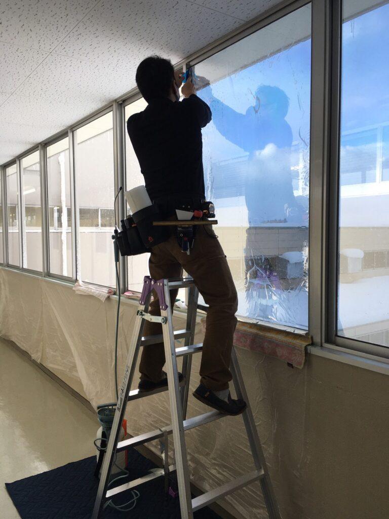 独)高齢・障害雇用支援機構 富山支部の施設に施工してきました